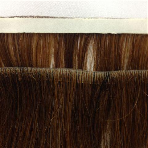 Mega hair de fita adesiva - Cabelo Natural - 45cm