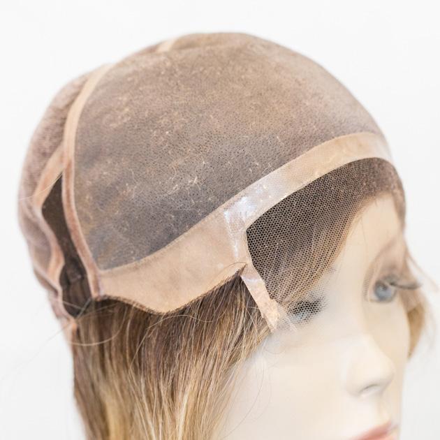Prótese Hibrida Lace Front - cabelo humano