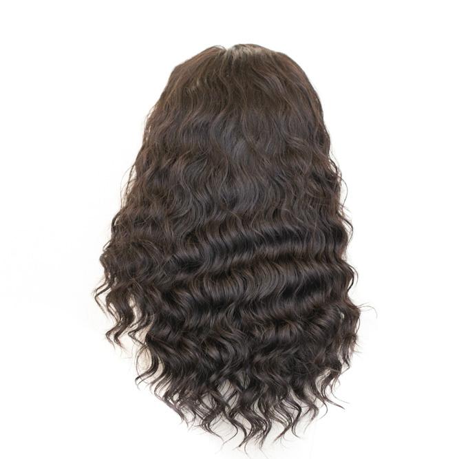 Peruca com tela Lace Front Wig - Cabelo Humano Natural