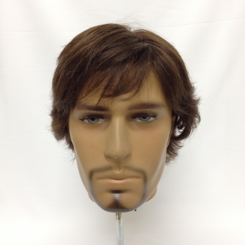 Prótese Inteira Base french lace + touca elastica - cabelo Processado