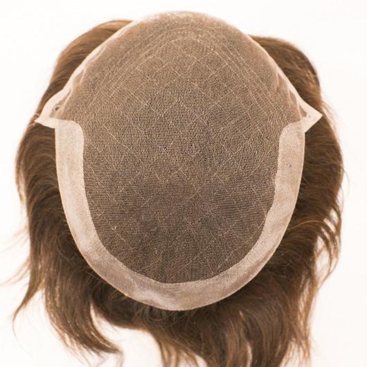Prótese Parcial Base Lace e poliuretano - cabelo processado