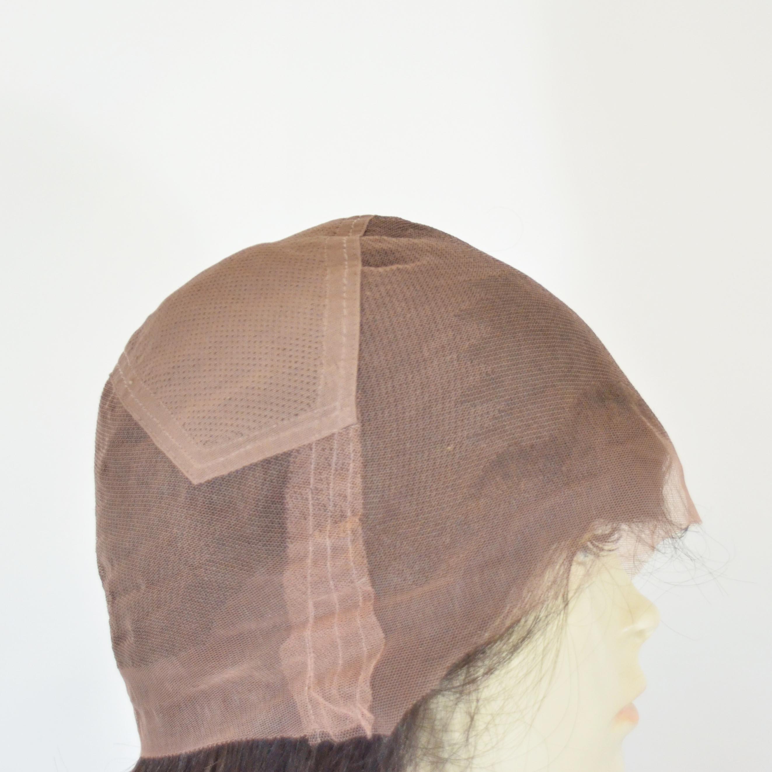 Prótese Inteira com tela Full Lace Wig - Cabelo Indiano Humano